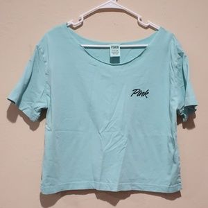 PINK by Victoria's Secret Boxy Wide Neck tee